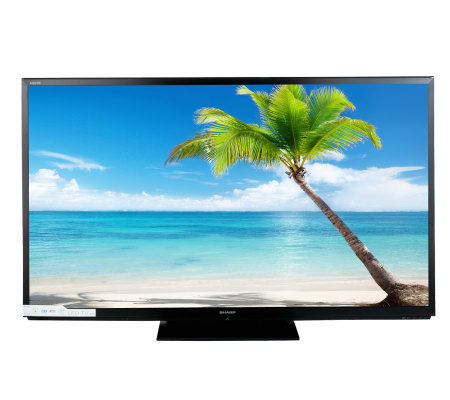 "Sharp AQUOS 70"" Diag. 1080p LED/LCD 120Hz 3D HDTV w/ Internet Apps"