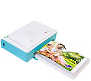 Prinhome 4x6 Portable WiFi Photo Printer w/120 Sheets of Paper & 2 Inks - E229164