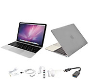 Apple MacBook 12 with Clip Case, Wireless Mouse and Accessories - E230064