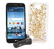 Simple Mobile LG Fiesta 2 Smartphone w/ 2 mo. Unlimited Talk/Text/Data - E231664