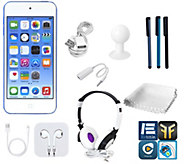 Apple iPod Touch 16GB 6th-Gen with DJ Headphones & More - E284664