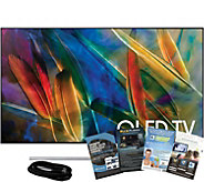 Samsung 75 QLED Smart Q4K HDR Elite TV with HDMI and App Pac - E291264