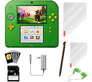 Nintendo 2DS Link Edition & Legend of Zelda:Ocarina of Time - E293564