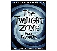 The Twilight Zone: Fan Favorites, 5 DVDs - E265565