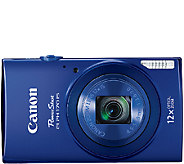 Canon PowerShot ELPH 170 IS 20 MP 12X Zoom Digital Camera - E281865