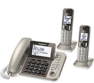Panasonic Digital Phone & Answering System w/ 2Handsets - E283365