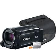 Canon VIXIA HF R700 Full HD Camcorder w/ MicroSD Card & Case - E288565