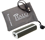 Halo 3000 mAh Portable Phone Charger w/ Accessories - E226866