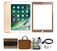 Apple iPad 9.7 32GB Wi-Fi Bundle w/ Bluetooth Keyboard & More - E231566