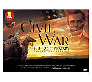 The Civil War, 150th Anniversary Collection  -10-Disc DVD Set - E266166