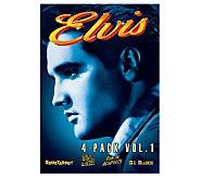 Elvis Collection: Volume 1 - 4-Disc DVD Set - E266566