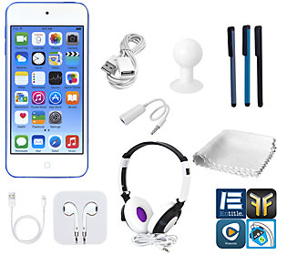 Apple iPod Touch 32GB 6th-Gen with DJ Headphones & More