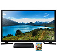 Samsung 32 720p LED HDTV with BluRay Player, S hrek 4, & More - E287066