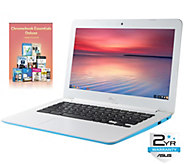 Asus 13 Chromebook - Intel, 4GB, 16GB eMMC w/Software & More - E287566