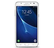 Virgin Mobile Samsung Galaxy J7 w/ Car Charger,App pack, Case - E289666