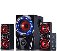 beFree Sound 99X 2.1-Channel Surround Sound Bluetooth Speaker - E289866