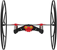 Parrot Rolling Spider Ground & Flying Drone w/ Aerial Snapshot &RemovableWheel - E228567