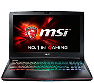 MSI 15 GE62 Gaming Computer - Core i7, 16GB RAM, GTX 960M - E288867
