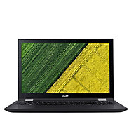 Acer Spin 3 15.6 2-in-1 Touch Laptop - i5, 8GBRAM, 1TB HDD - E290167