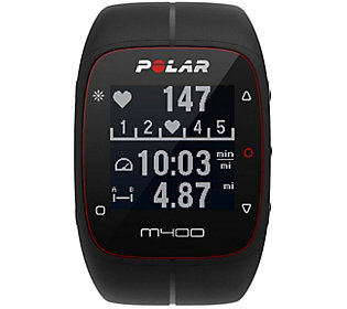 Polar Electro M400 GPS Watch and Heart