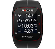 Polar Electro M400 GPS Watch and Heart Rate Sensor Strap - E291767