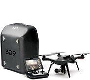 3DR Solo Drone Pro Bundle Drone Backpack, Gimbal Mount, Extra Battery - E229268