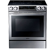 Samsung 30 Stainless Steel Electric Slide-in Range - E285868