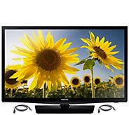 Samsung 28 Class Smart LED HDTV w/ HDMI Cables - E287168
