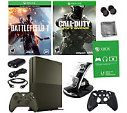 Xbox One S 1TB SE Battlefield 1 Bundle withCall of Duty - E290268