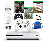 Xbox One S 500GB Console with 3 Games & 3-MonthGame Pass - E292768