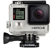 GoPro HERO4 Silver with 8 Piece Accessory Kit - E229469