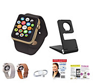 Apple Watch Sport Series 1 42mm with Leather & Metal Bands - E230069