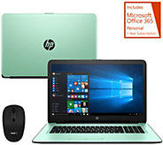 HP 17 Laptop Intel Core i3 8GB RAM 1TB HD w/ MS Office & Wireless Mouse - E230369
