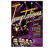 The Temptations: Live in Concert DVD - E265369