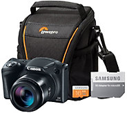Canon PowerShot SX420 HS 20MP Digital Camera with W-Fi & More - E288569