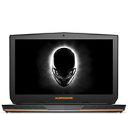 Dell 17 Alienware Laptop - i7, 8GB RAM, 1TB HDD & 3-Year LMW - E289369