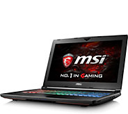 MSI 15.6 Gaming Laptop - Intel i7, 16GB RAM, 128GB SDD - E290869