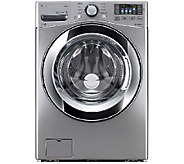 LG 4.3 Cu. Ft. Graphite Front Load Washer w/ Steam Technology - E285870