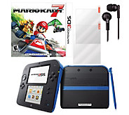 Nintendo 2DS Mario Kart 7 Bundle with Accessory Pack - E287670