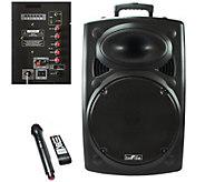 beFree Sound BFS-6550 Portable Bluetooth PA Speaker - E289870
