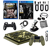 Sony PlayStation 4 1TB LE Camo w/ Call of DutyWWII & More - E292670