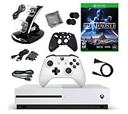 Xbox One S 500GB Console with Star Wars Battlef ront II & More - E292770
