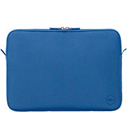 Dell 15 Blue Neoprene Sleeve Carry & Protect w/ Soft Lining, Metal Zipper - E228971