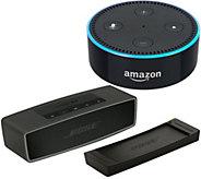 Bose SoundLink Mini Bluetooth Speaker II with Amazon Dot - E230971