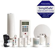 SimpliSafe 13 Piece Home Security System w/ HD Camera & Smoke Detector - E231171