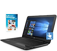 HP 15 Touch Laptop - Core i3, 8GB RAM, 1TB HDDwith 1-Yr Tech - E290071