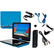 Craig 9 Swivel DVD Player with Remote and Accessories - E227772