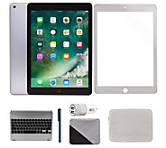 Apple iPad 9.7 32GB Wi-Fi Tablet with Patterned Bag and More - E231472