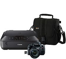 Canon EOS Rebel T6i Digital Camera with 18-135mm Lens & More