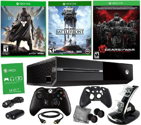 xbox one bundle w star wars battlefront 2 bonus games. Black Bedroom Furniture Sets. Home Design Ideas